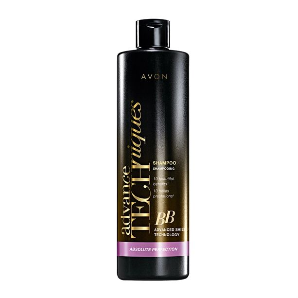 Avon Advance Techniques BB Šampon pro regeneraci a ochranu vlasů 400ml