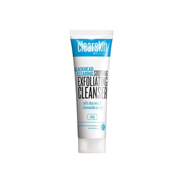 Clearskin Blackhead Clearing čisticí peelingový gel 125 ml s výtažkem z aloe a heřmánku 125ml