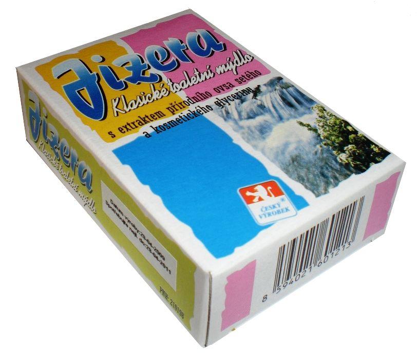 Klasické toaletní mýdlo JIZERA 100g s extraktem přírodního ovsa setého For Merco