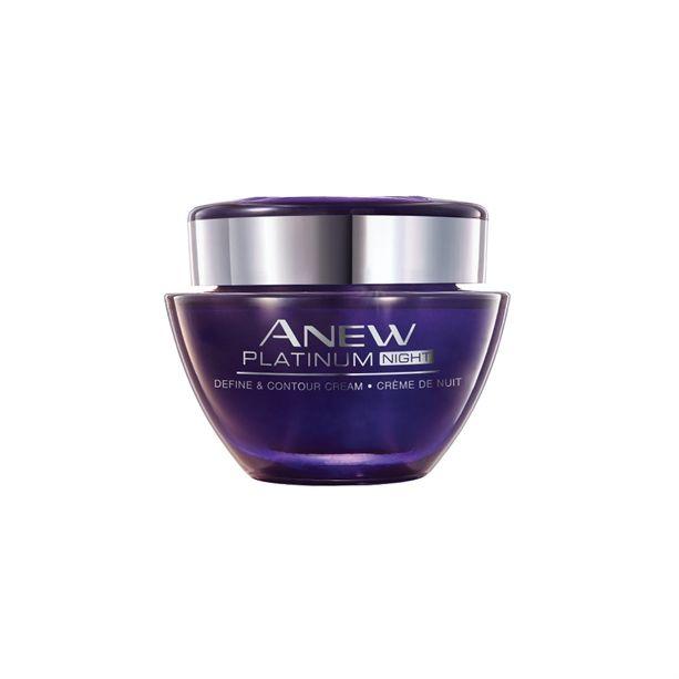 Anew Platinum noční krém proti vráskám 50ml - 55+ Avon