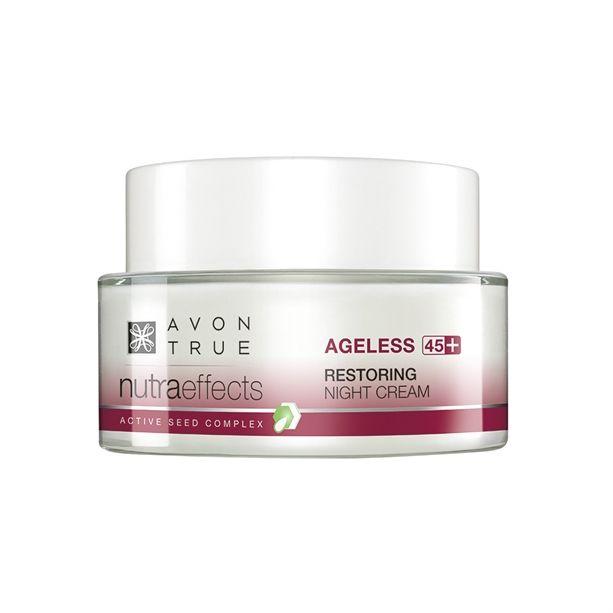 Avon True 45+ Noční krém NuttraEffects s omlazujícím účinkem 50ml