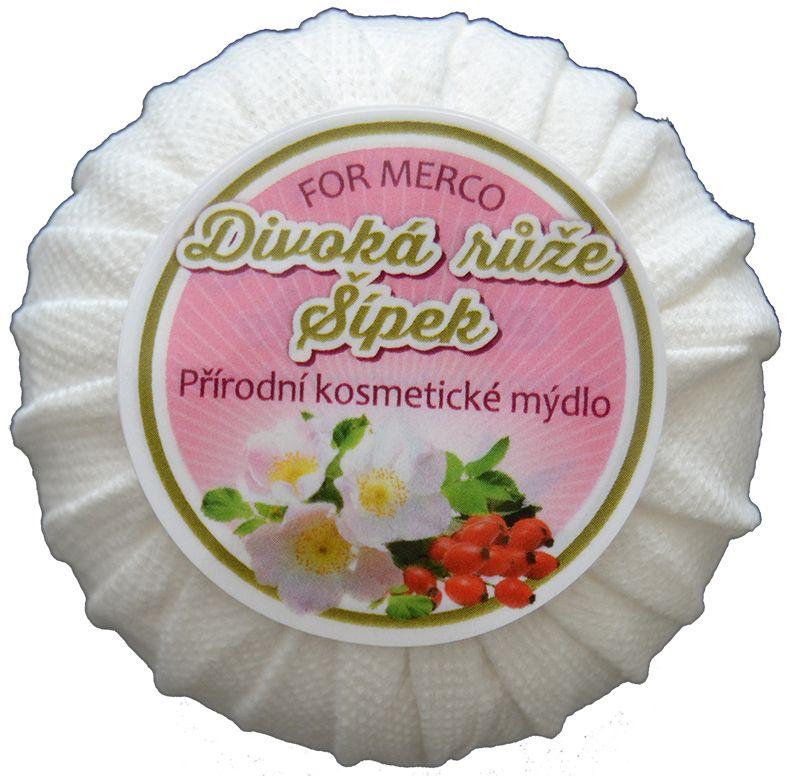 """Přírodní kosmetické mýdlo """"Divoká růže+Šípek"""""""