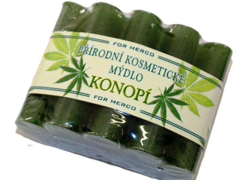For Merco glycerinové mýdlo vlnka Konopí -: 100 g