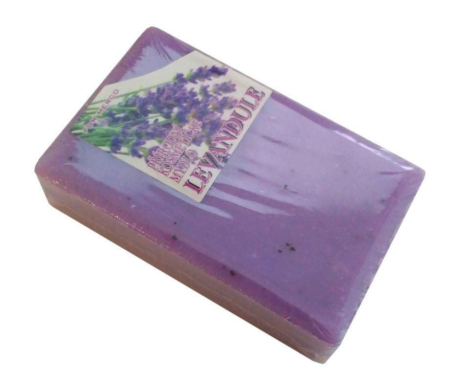 Přírodní kosmetické mýdlo LEVANDULE 85g - rostlinné For Merco