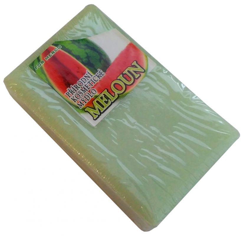 Přírodní kosmetické mýdlo rostlinné MELOUN 90g For Merco