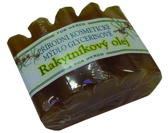 Přírodní kosmetické mýdlo vlnka RAKYTNÍK 100g glycerinové For Merco