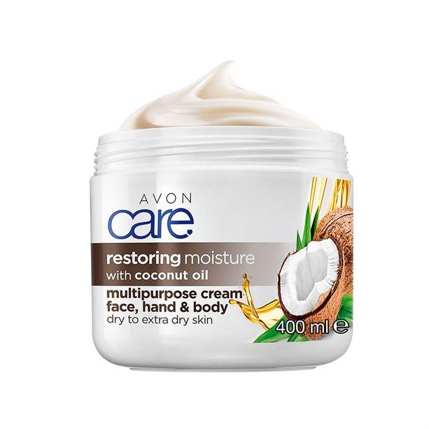 Regenerační krém na obličej a tělo s kokosovým olejem 400ml Avon Care