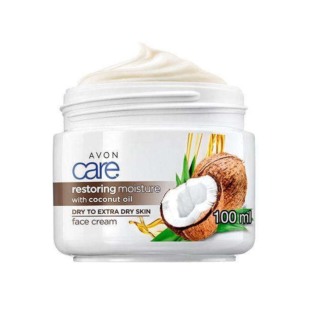 Avon Care pleťový krém s kokosovým olejem 100ml