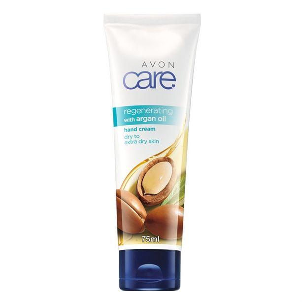 Regenerační krém na ruc e s arganovým olejem Avon Care 75ml