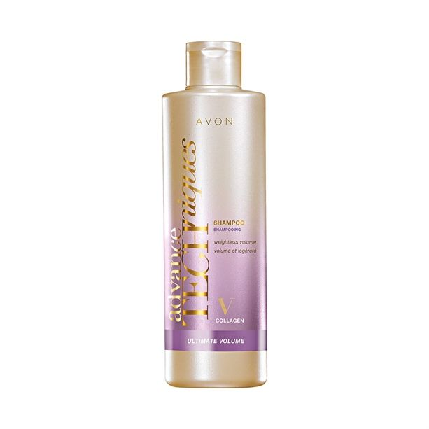 Advance Techniques šampon pro zvětšení objemu s 24hodinovým účinkem 250ml Avon