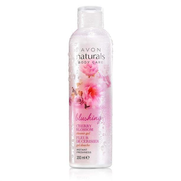 Sprchový gel Avon Naturals s třešňovým květem 200ml