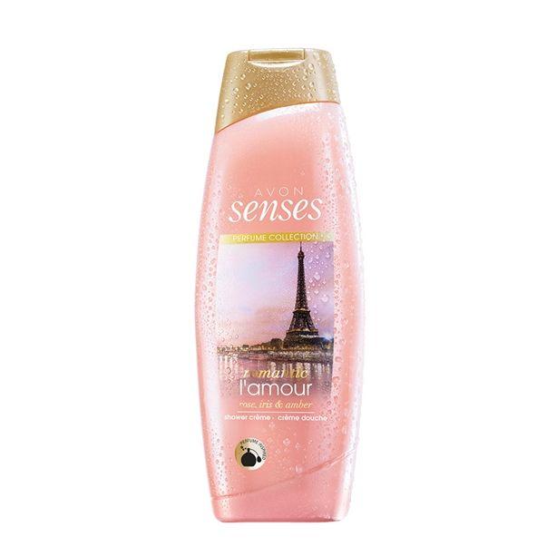 Senses - Sprchový krém Romantic Lamour - : 250 ml Avon