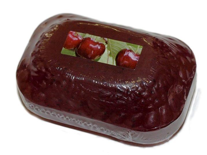PŘÍRODNÍ KOSMETICKÉ MÝDLO TŘEŠEŇ s makadamovým olejem 115g