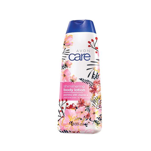 Třpytivé tělové mléko s jasmínem a vitamínem E 400ml Avon Care