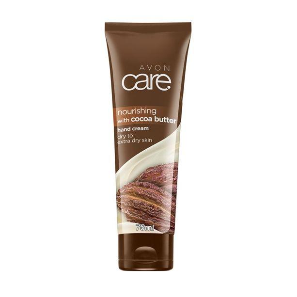 Vyživující krém na ruce Avon Care s kakaovým máslem 75ml