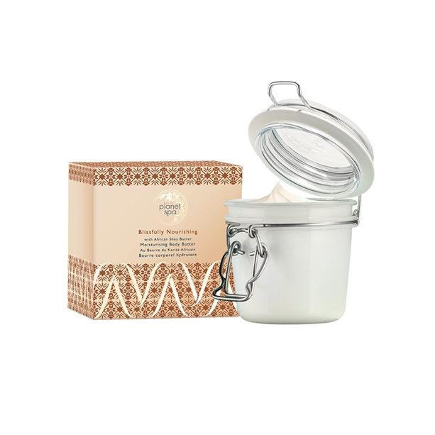 Avon Planet Spa Vyživující tělový krém s bambuckým máslem 200ml