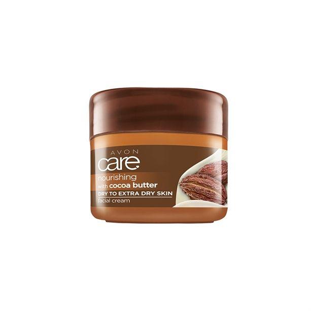 Avon Care pleťový krém s kakaovým máslem 100g