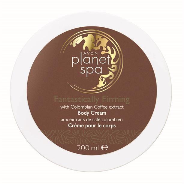 Planet Spa Zpevňující tělový krém s výtažky z kávy -: 200ml Avon