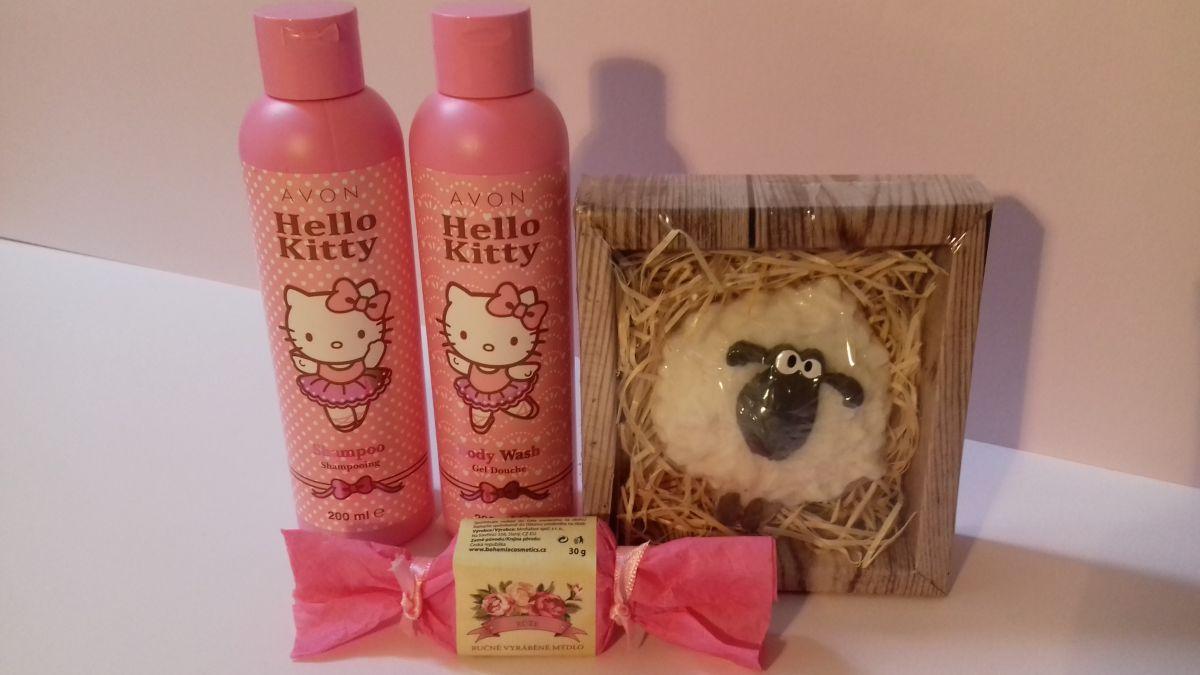 Dárková sada pro holčičky Hello Kitty Bohemia Gifts