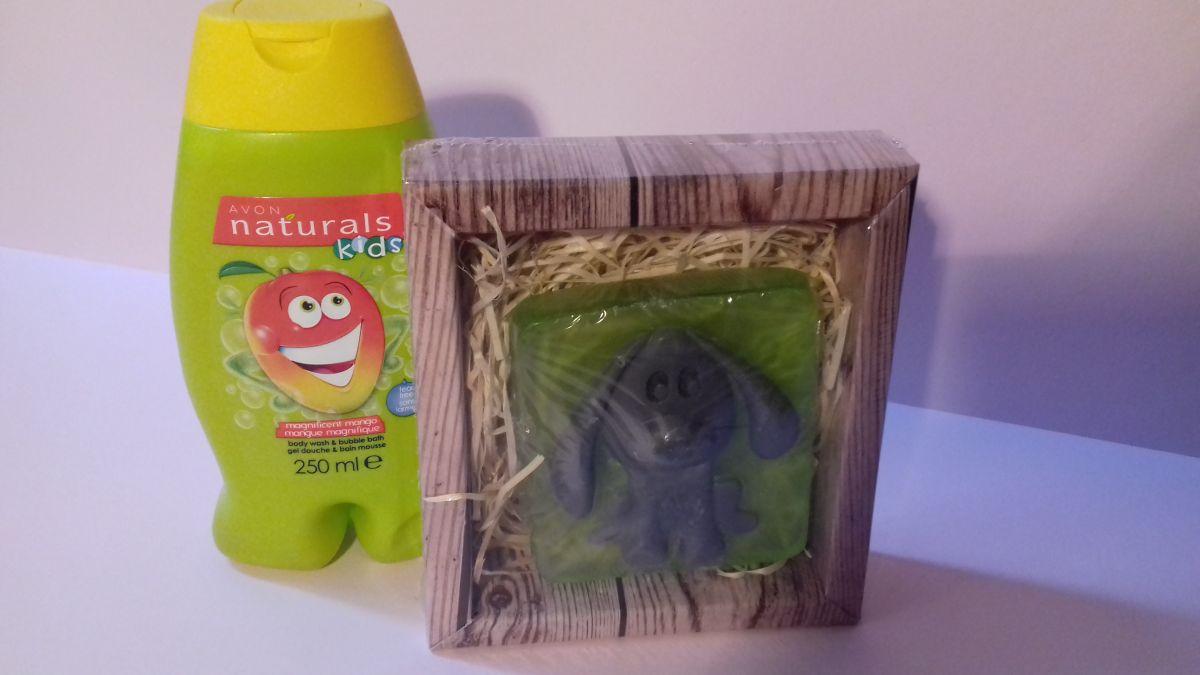 Dětská sada mycí gel a mýdlo Pejsek Avon