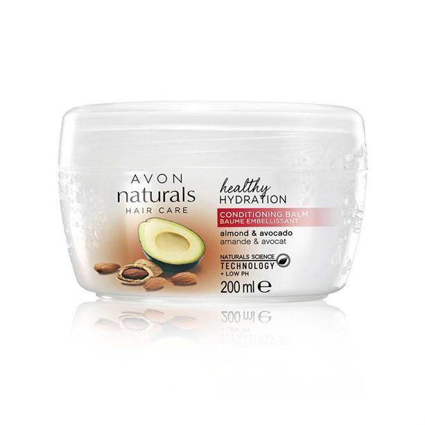 Avon Hydratační balzám na vlasy s mandlovým olejem a avokádem 200ml