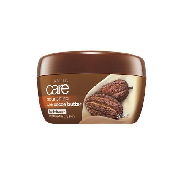 HYDRATAČNÍ TĚLOVÝ KRÉM AVON CARE s kakaovým máslem a vitaminem E 200ml