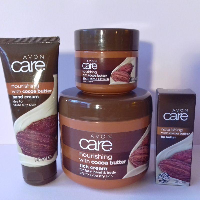 Kakaová vyživující sada Avon
