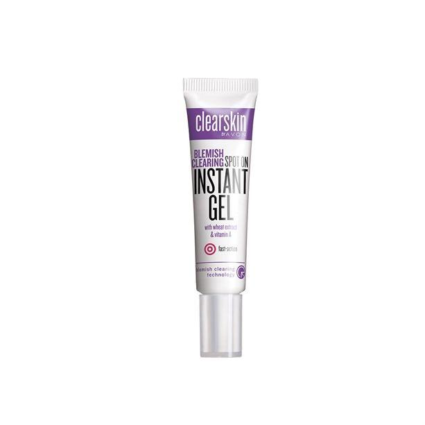 Pleťový gel proti akné s výtažkem z pšenice a vitaminem A 15ml Clearskin Blemish Clearing Instant Gel Avon
