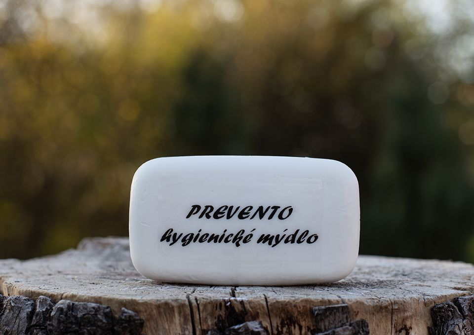 Prevento – hygienické mýdlo 90g - desinfekční For Merco