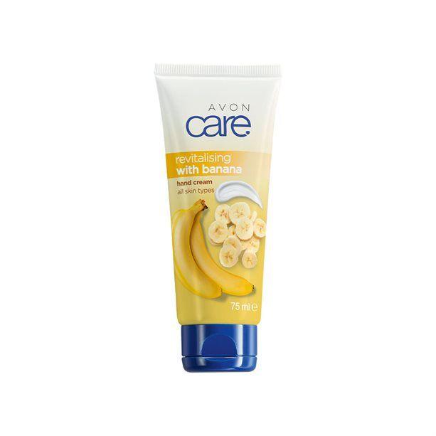Avon Care Regenerační krém na ruce s banánem -: 75 ml