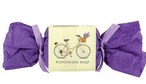 Mýdlo ručně vyráběné toaletní Life Riding Life Riding 30g s vůní levandule Bohemia Gifts