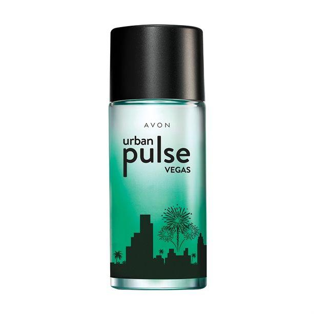 Urban Pulse Vegas toaletní voda pánská -: 50 ml Avon