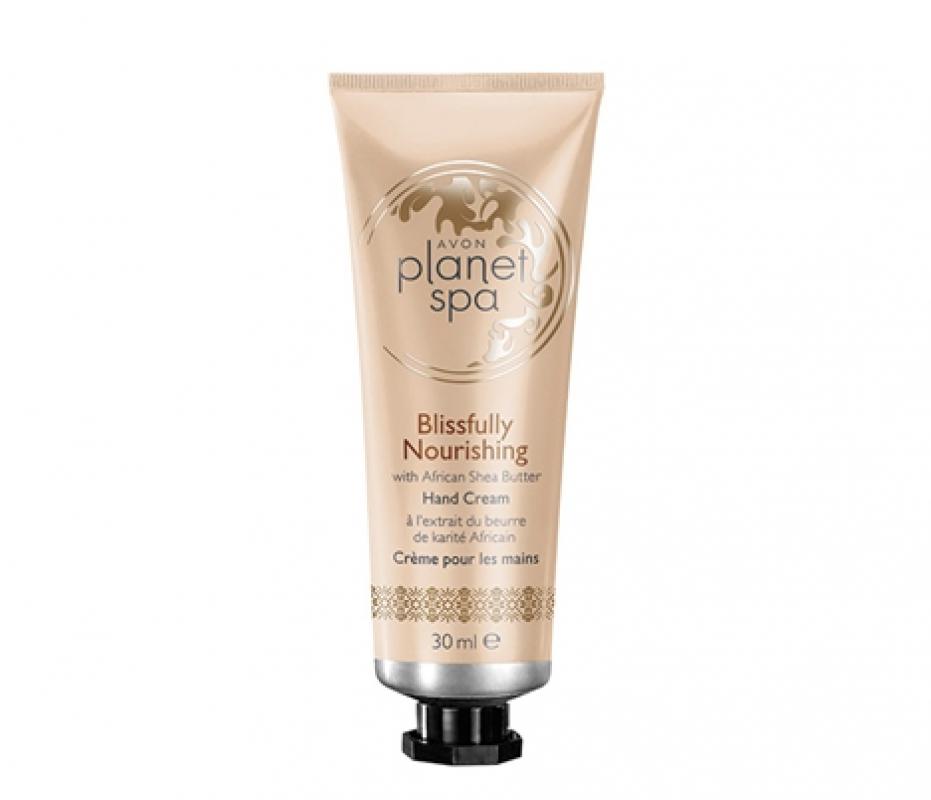 Planet Spa - Vyživující krém na ruce s bambuckým máslem - : 30ml Avon