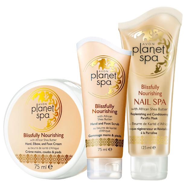 Planet Spa Vyživující sada s bambuckým máslem / 3 ks Avon