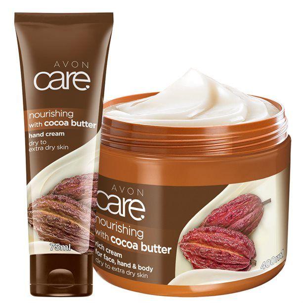 2Dílná sada s kakaovým máslem Avon