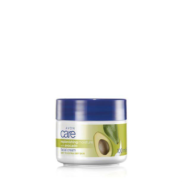Care Hydratační pleťový krém s avokádovým olejem -: 100 ml Avon