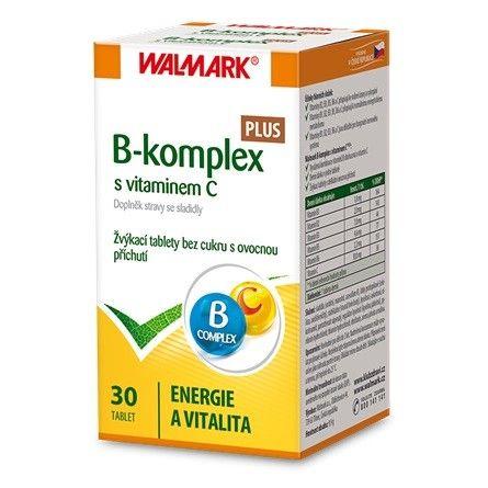 B-komplex PLUS s vitaminem C tbl.30 Walmark