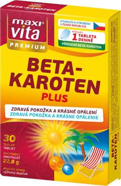 Betakaroten plus 30 tablet premium MaxiVita