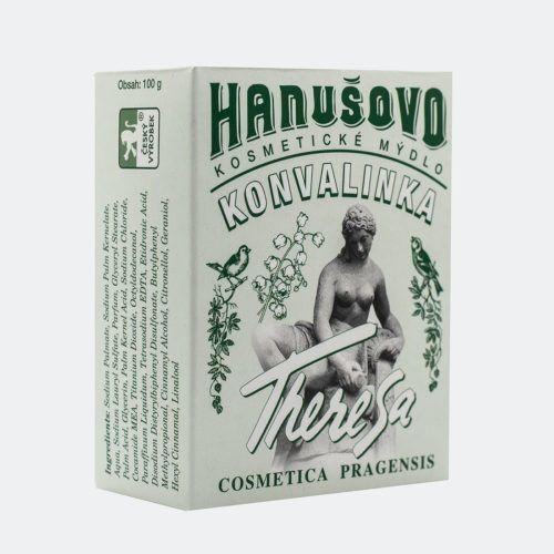 Hanušovo kosmetické mýdlo Konvalinka -: 100g Formerco