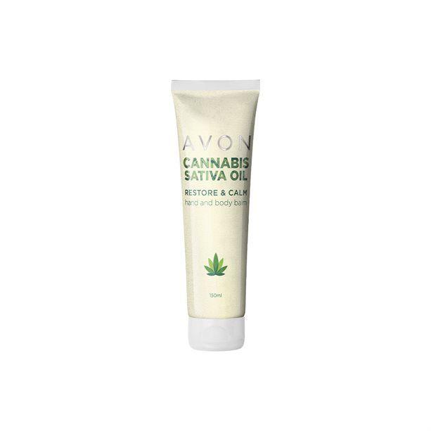 Cannabis Sativa Oil krém na ruce a tělo s konopným olejem -:150 ml Avon