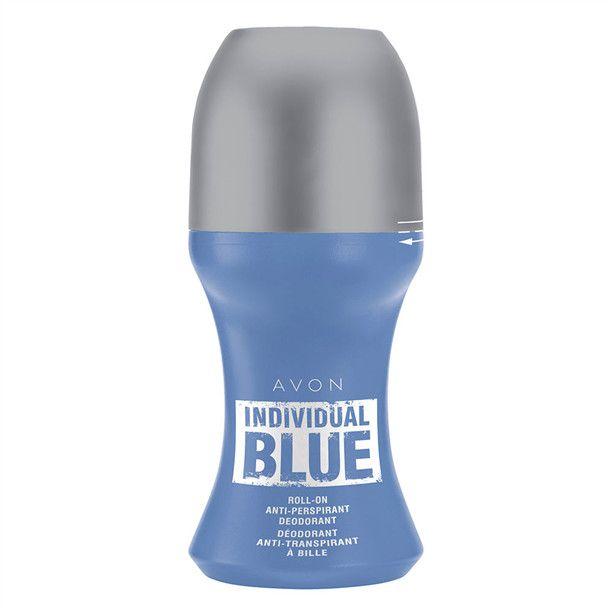 Kuličkový deodorant antiperspirant Individual Blue -: 50 ml Avon