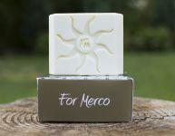 Mercano pánské přírodní mýdlo s konopným olejem 120g For Merco