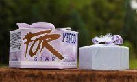 Mýdlo luxusní STAR fialové 115g dárkové