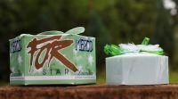 Mýdlo luxusní STAR zelené 115g dárkové