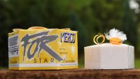 Mýdlo luxusní STAR žluté 115g dárkové