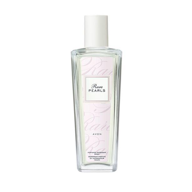 Parfémovaný tělový sprej Rare Pearls ve skleněném flakonu -: 75ml Avon