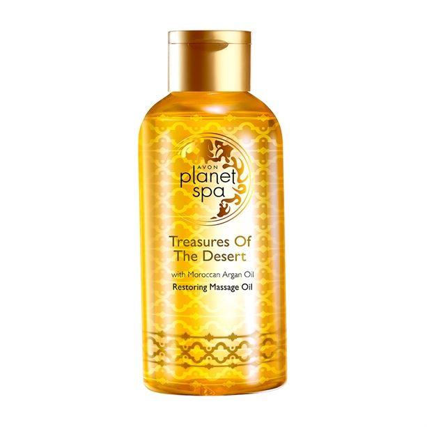 Planet Spa masážní olej s marockým arganovým olejem -: 150 ml Avon