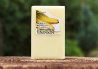 Přírodní kosmetické mýdlo BANÁN 90g - rostlinné For Merco