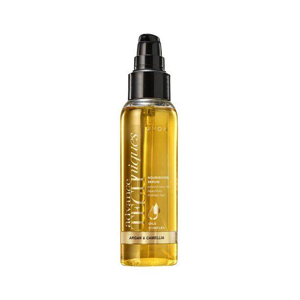 Vyživující sérum na vlasy s arganovým a kaméliovým olejem -: 100ml Avon